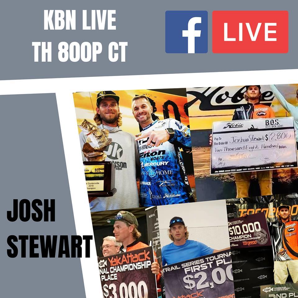 KBN Live Replay – Josh Stewart