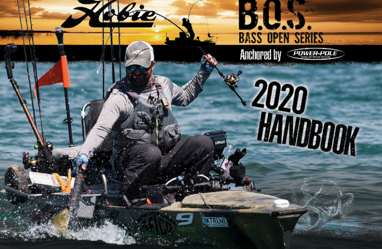 Hobie releases more details on the 2020 Bass Open Series