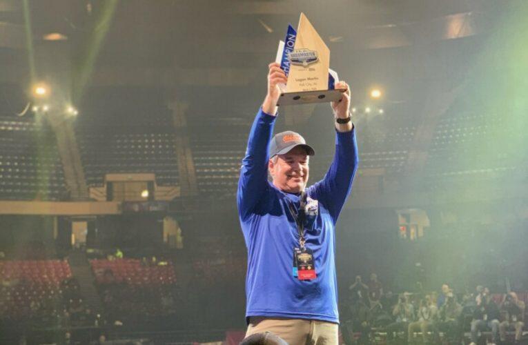 Jim Davis wins the first ever BASS Nation Kayak Event