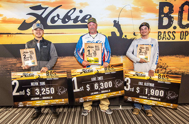 Kurt Smits wins Hobie BOS Lake Norman