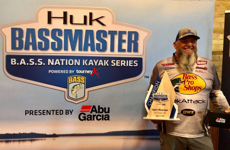 South Carolinas Barry Davis Wins BASS Nation Kayak Event at Lacrosse