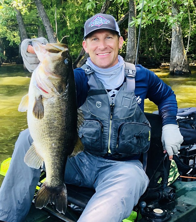 HOBIE B.O.S. LANDS AT LAKE DARDANELLE, ONE OF ARKANSAS' TOP BASS WATERS